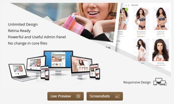 KUBERA - Premium OpenCart Theme